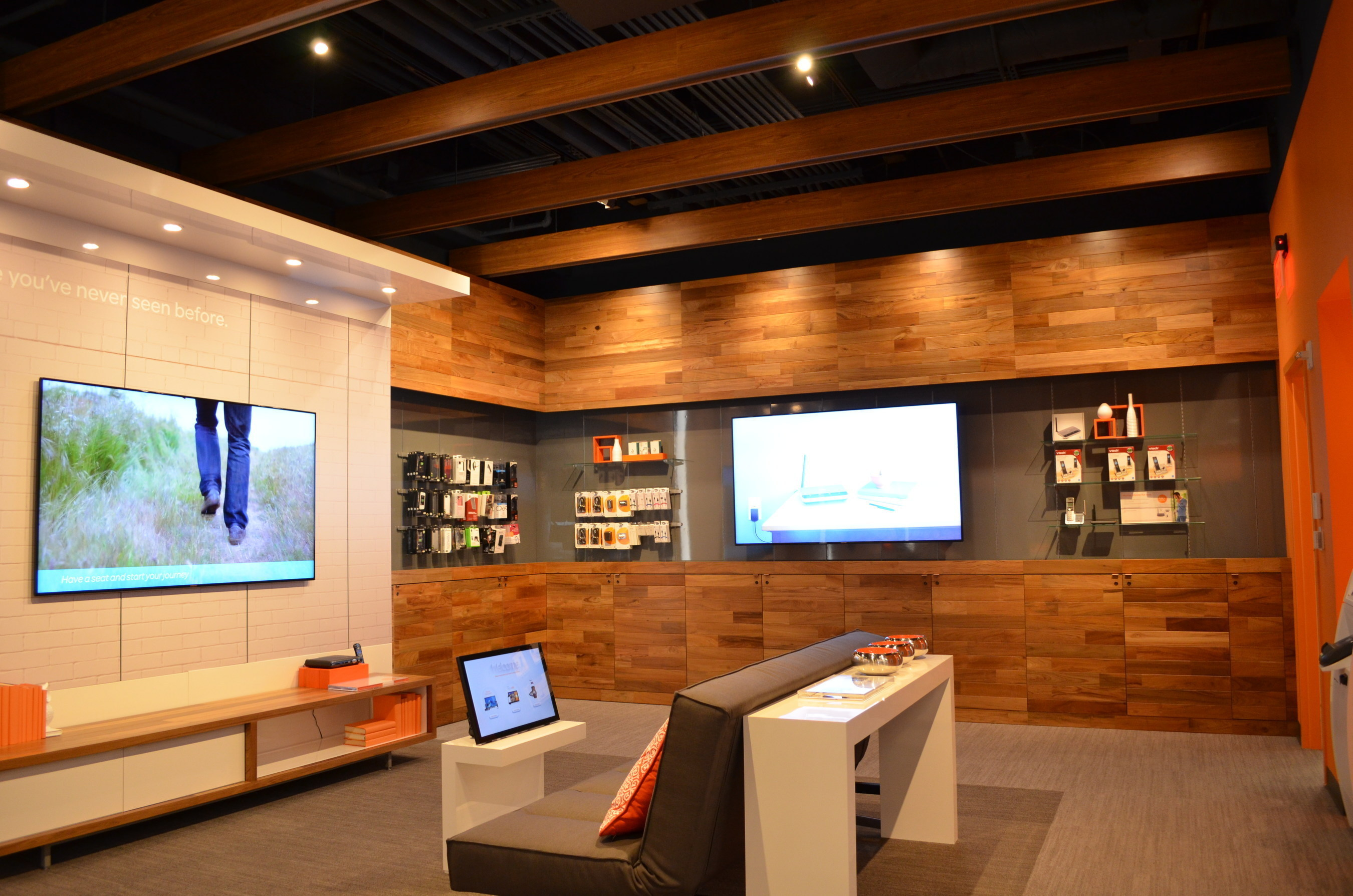 Stock photo of AT&T's Store of the Future. Photo courtesy of AT&T.