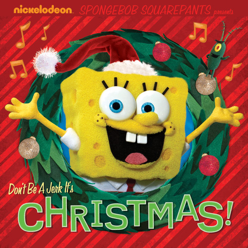 SpongeBob SquarePants Don't Be a Jerk It's Christmas! E-Book.  (PRNewsFoto/Nickelodeon)