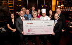 Representatives include NBCF Co-Founders Janelle and Neal Hail, DFRG's Benson Kelsey, Kelly Stoker and Sullivan's Dallas management team.  (PRNewsFoto/Del Frisco's Restaurant Group)