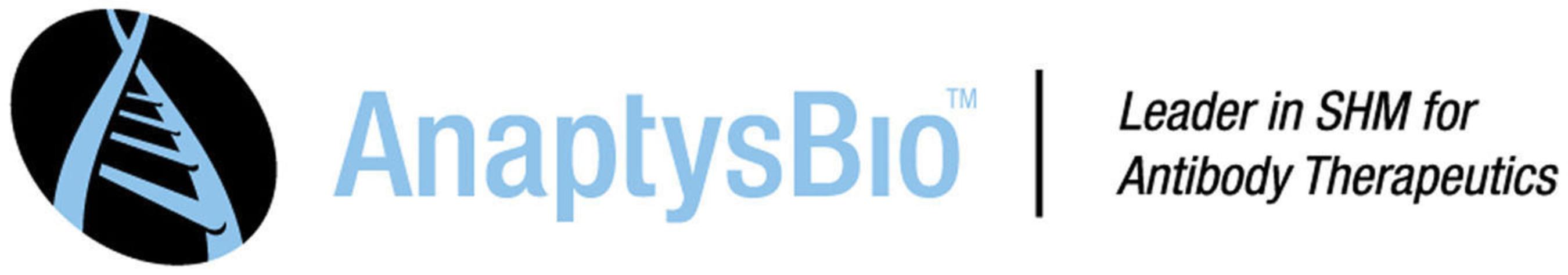 AnaptysBio Leader in SHM for Antibody Therapeutics  www.anaptysbio.com . (PRNewsFoto/AnaptysBio, Inc.)