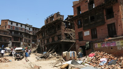 "Image from Discovery en Espanol's documentary ""Terremoto en Nepal"". Premiere Sunday, June 21 at 10PM E/P."