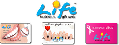 Wellness Gift Card, Mammogram Gift Card, Dental Exam Gift Card