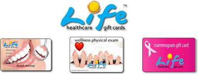 Wellness Gift Card, Mammogram Gift Card, Dental Exam Gift Card
