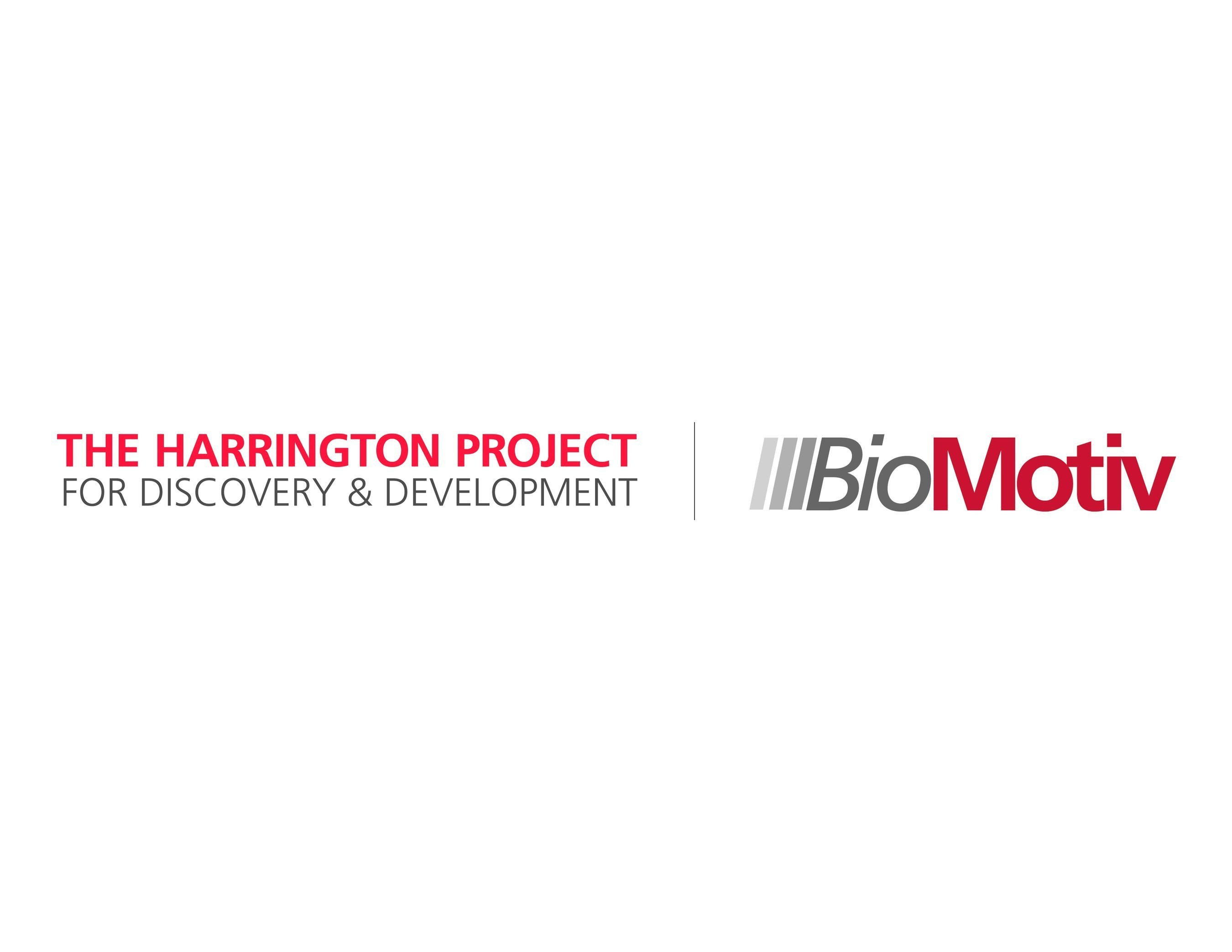 THE HARRINGTON PROJECT FOR DISCOVERY & DEVELOPMENT  | BioMotiv