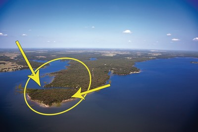 Nautical Shores, a beautiful peninsula of land on a 36,000 acre lake under one hour from Dallas!