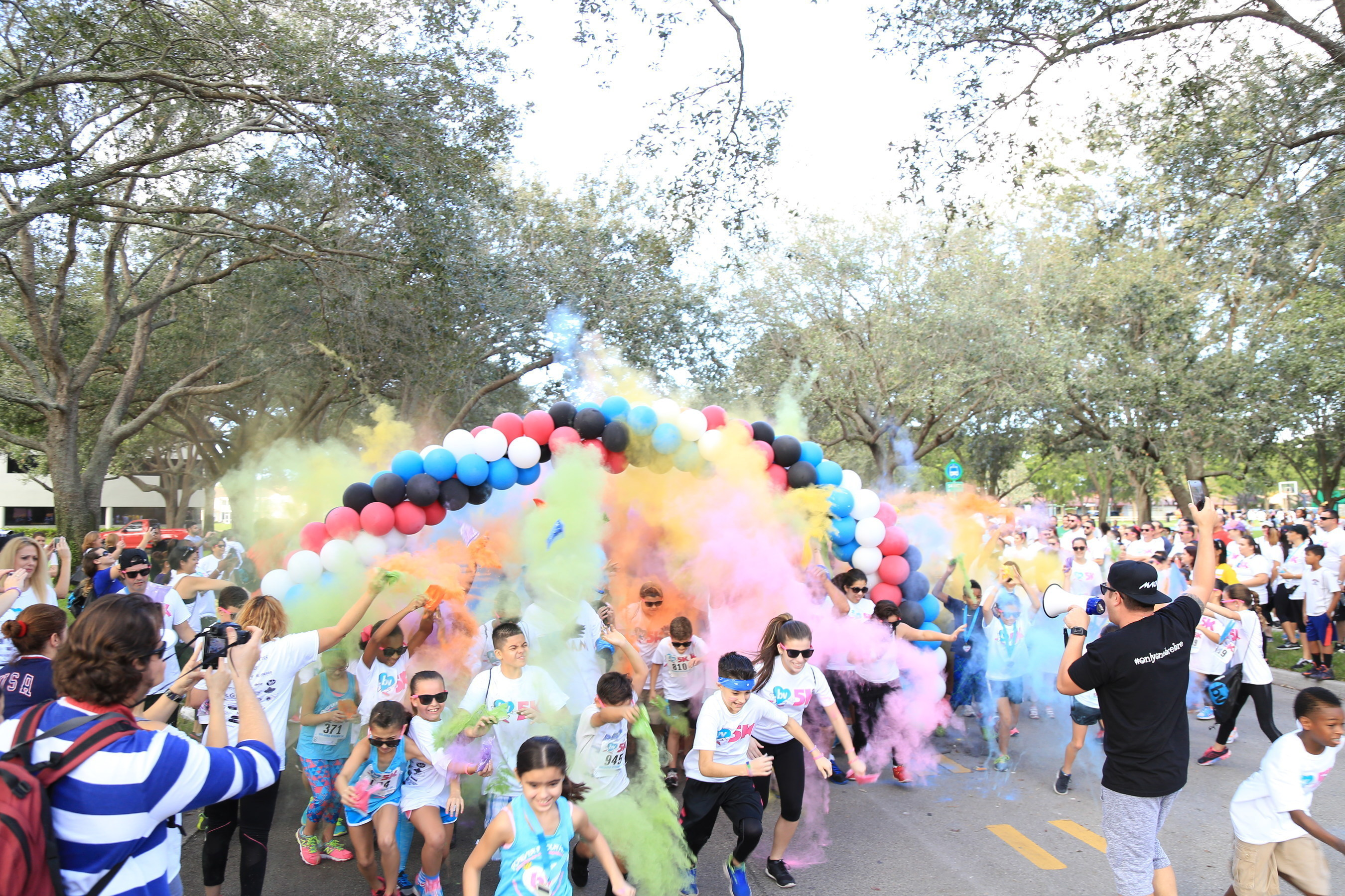 More than 2,000 supporters turned out for the inaugural Breanna Vergara 5K & Color Run held Sunday, December 13 in Miami Lakes.
