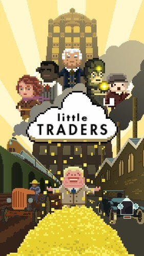 Master the Financial Markets with Award-Winning Little Traders iOS Game (PRNewsFoto/Tradimo) (PRNewsFoto/Tradimo)