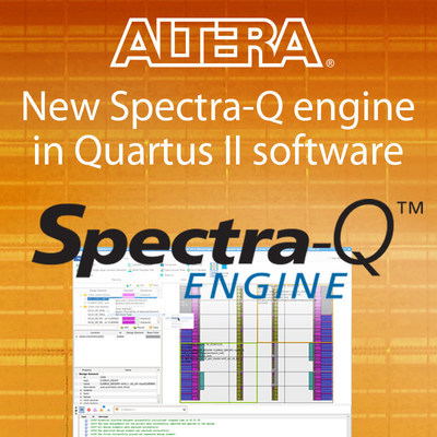Altera introduces the Spectra-Q engine to increase customer productivity and time-to-market.