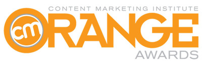 Content Marketing Institute Orange Awards.  (PRNewsFoto/Content Marketing Institute)