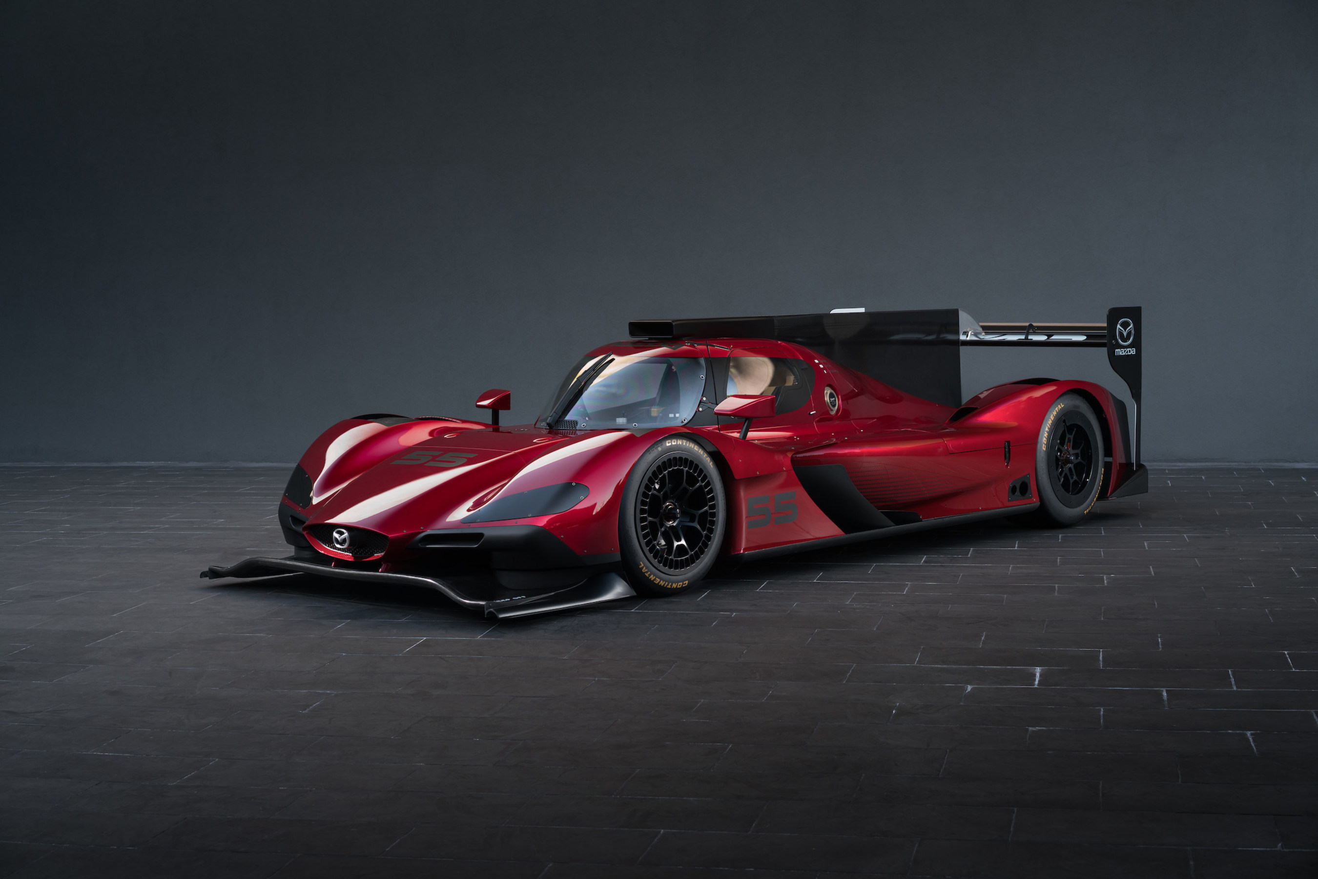 Mazda Unveils New Prototype Race Car at Los Angeles Auto Show