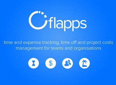 Flapps.com - time and expense tracking, time off and project costs management for teams and organizations.  (PRNewsFoto/Flapps, Inc.)