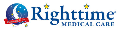 Maryland-based Righttime Medical Care is celebrating its 25th year of providing urgent care to all ages. Its 13 Care Centers are open 7am to midnight, 365 days a year to treat all minor illnesses and injuries. Righttime's concussion care service, HeadFirst Sports Injury and Concussion Care, provides education, evaluation, and treatment of head injuries in patients of all ages, including comprehensive return to learn, play, and work plans, specialist referrals, and community education programs.
