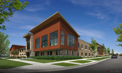 Sojourner Family Peace Center opening in 2016. (PRNewsFoto/Children's Hospital of Wisconsin)