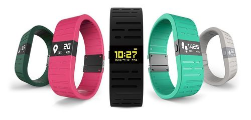 ERI - The thinnest route tracking smart sport wristband. (PRNewsFoto/www.lncdeslet.com)