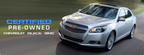 Chevy Certified Used benefits give car shoppers the confidence necessary to make a purchasing decision.  (PRNewsFoto/Bill Jacobs Automotive Group)