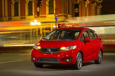 2015 Honda Fit. (PRNewsFoto/American Honda Motor Co., Inc.)