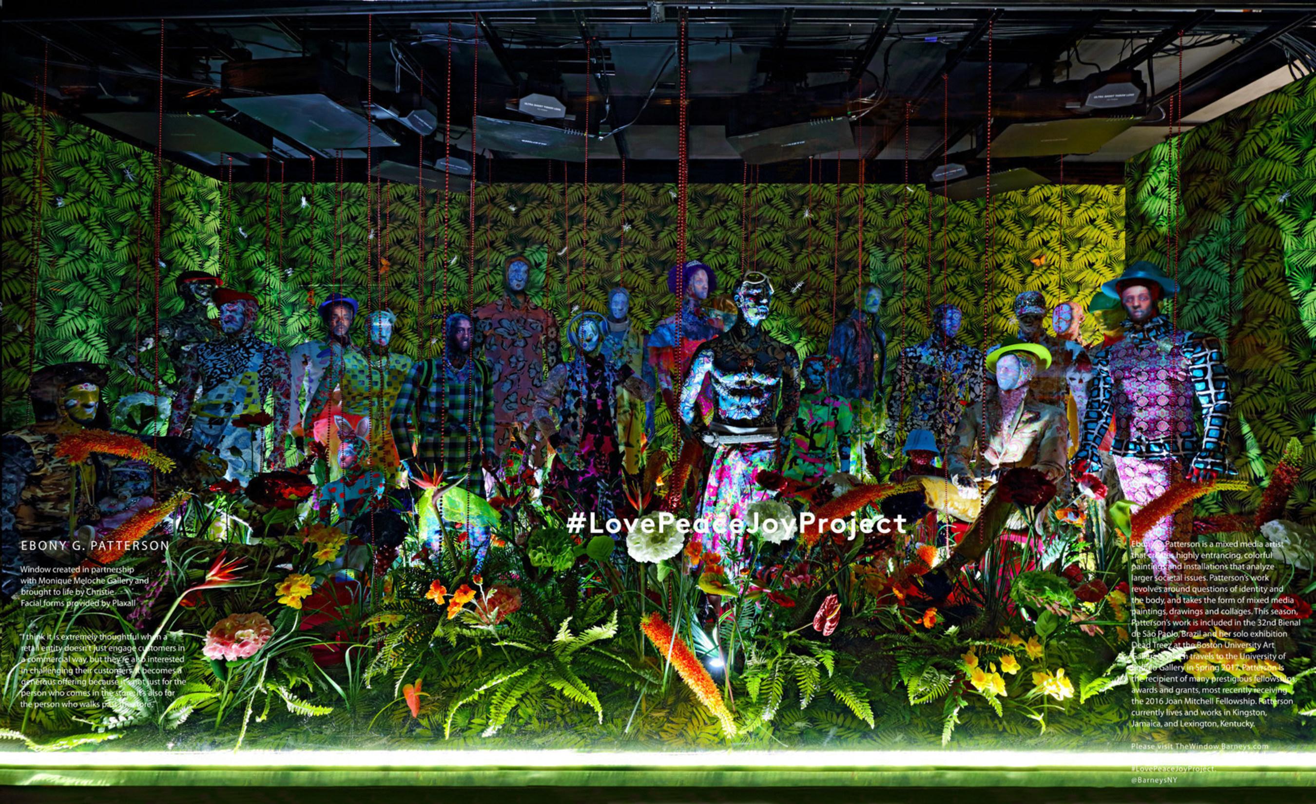 Barneys New York Downtown Window - Ebony G. Patterson