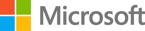 Microsoft logo (PRNewsFoto/Microsoft Corp.)