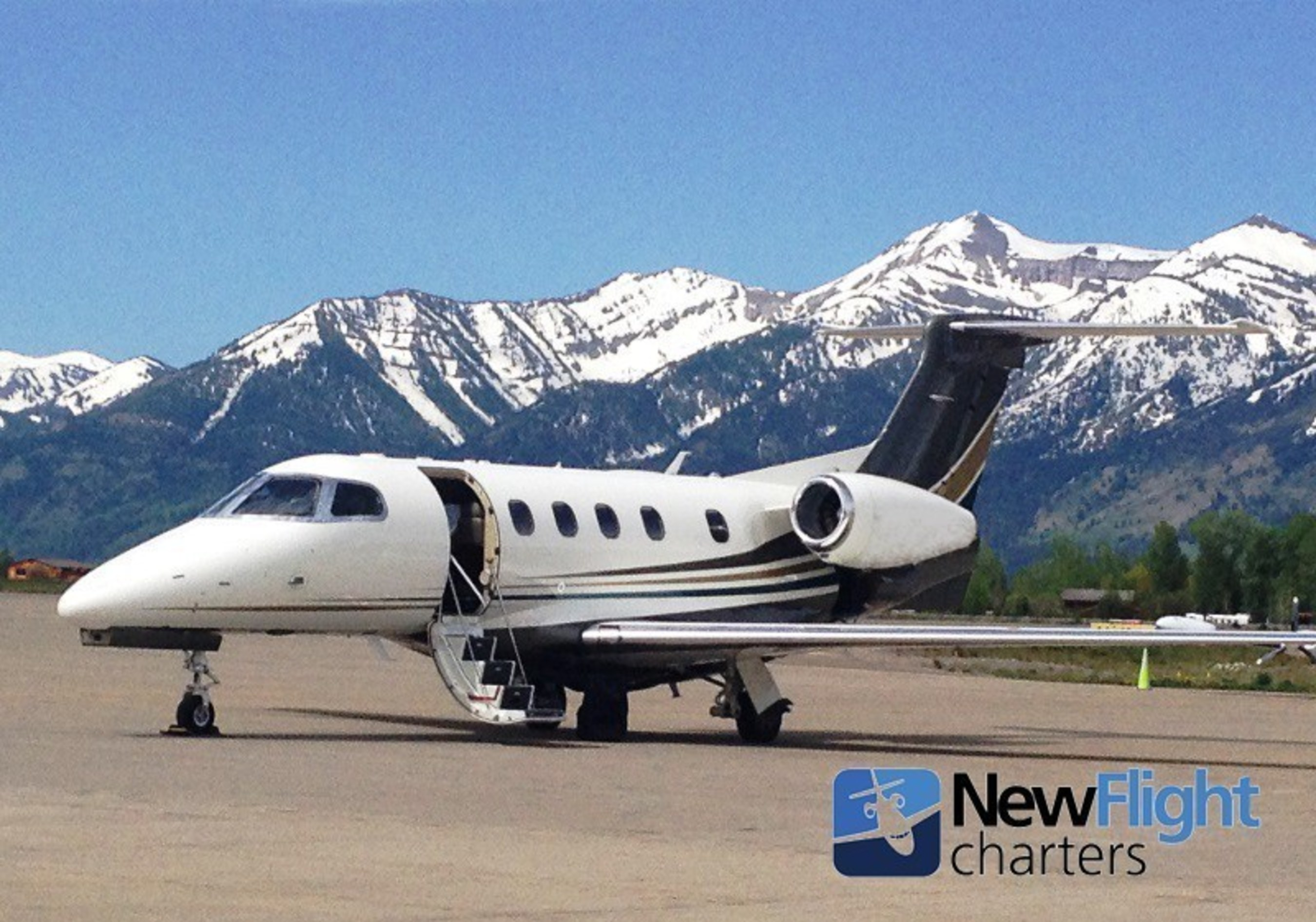 Colorado private jet charters with local leader New Flight Charters (303) 729-1444, including to/from Denver, Aspen, Eagle-Vail, Telluride, and others; largest availability and Best Price Guarantee for every flight.