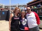 Jennifer Downey (Ambiance), Hayley Williams (JDBCF), and Henry Keiluhn (Ambiance) (PRNewsFoto/JD Breast Cancer Foundation)