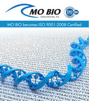 MO BIO Laboratories, Inc. becomes ISO 9001:2008 certified.  (PRNewsFoto/MO BIO Laboratories, Inc.)