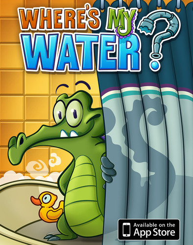 Disney's First Original Character for Mobile Splashes onto the App Store in 'Where's My Water?'