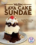 Baskin-Robbins Offers Residents Of Cleveland New Warm Lava Cake Sundaes For A Limited Time Only