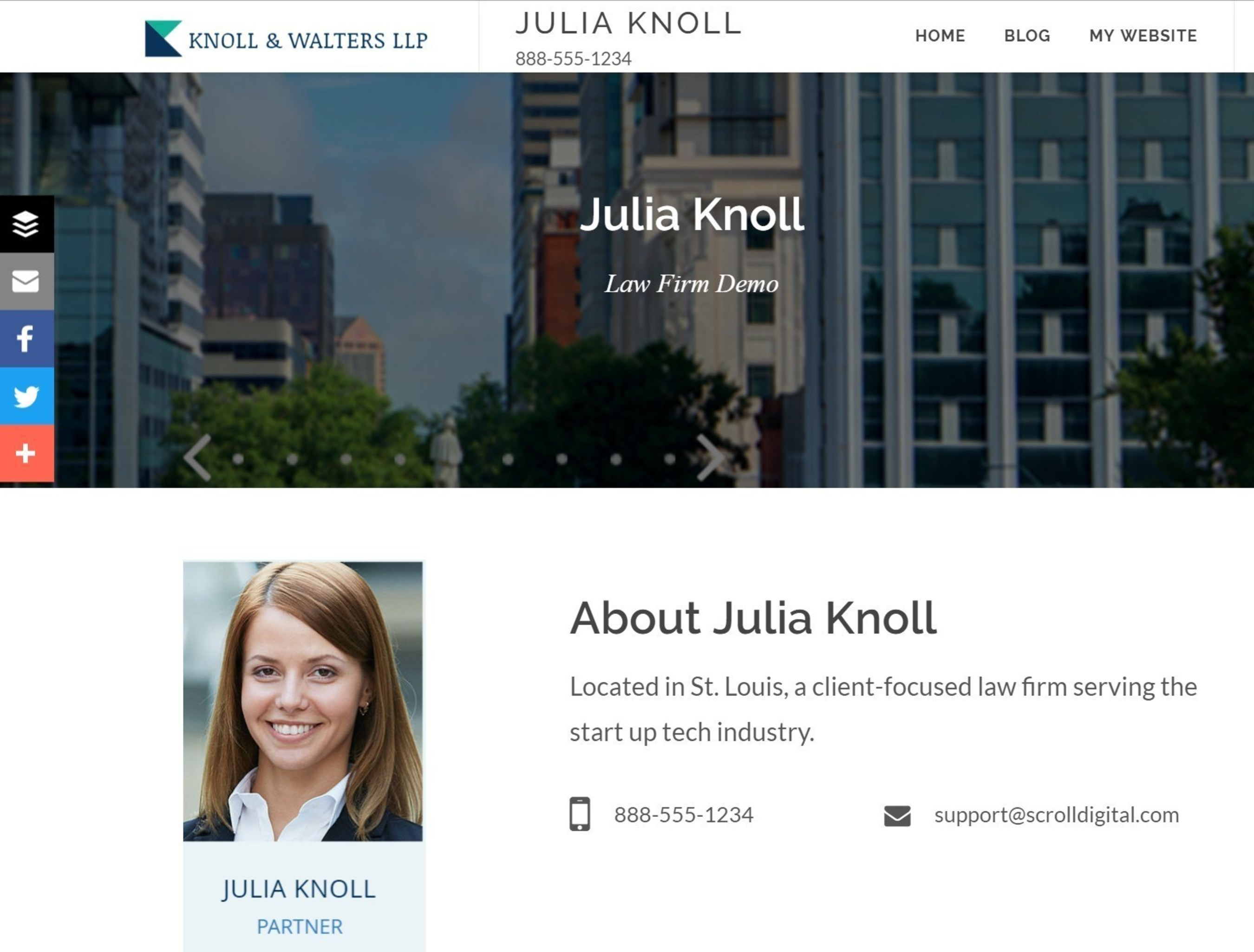 Scroll Launches Top-Down Social Media Solution for Law Firms