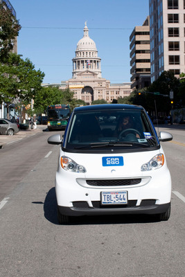 car2go celebrates two years in Austin, Texas with more than 21,000 members.  (PRNewsFoto/car2go)