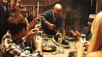 "Renaissance Hotels & Chef Andrew Zimmern Cook Up Original Video Series ""The Navigator's Table"" May 3, 2016"