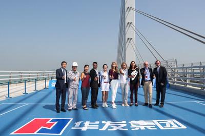 Graf Hong Kong-Zhuhai-Macao Bridge Tennis Show 1