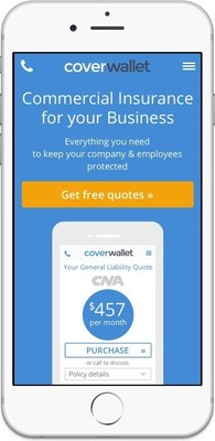 CoverWallet makes it simple for small businesses to understand, buy, and manage insurance. Access the platform from your phone or computer.