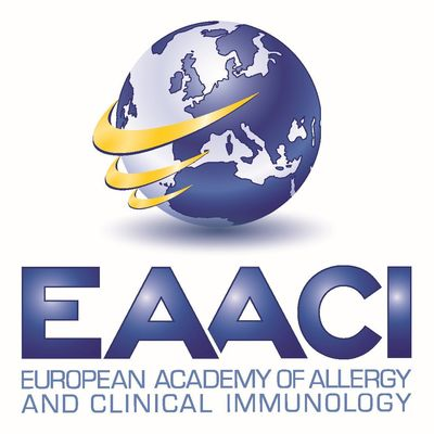 EAACI EUROPEAN ACADEMY OF ALLERGY AND CLINICAL IMMUNOLOGY Logo