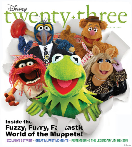 Disney twenty-three Magazine Goes Behind the Scenes with Stars of The Muppets