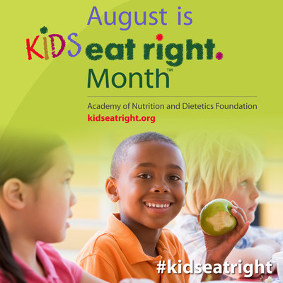 As children head back to school, the Academy of Nutrition and Dietetics encourages everyone to celebrate Kids Eat Right Month and give children the nutrition knowledge they need to grow and succeed. Visit www.KidsEatRight.org to learn how to shop smart, cook healthy and eat right.