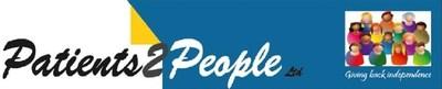 Patients2People logo.