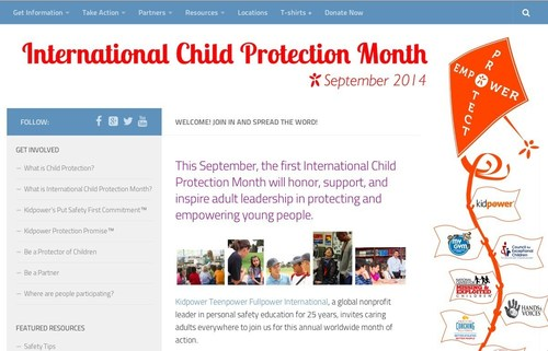 This September, the first International Child Protection Month will honor, support, and inspire adult leadership in protecting and empowering young people. Go to www.InternationalChildProtectionMonth.org for free resources and ways to get involved. (PRNewsFoto/Kidpower)