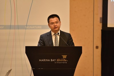 Zeng Xingyun, Vice President of Huawei Fixed Network Product Line.