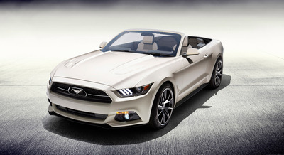 FORD MUSTANG 50 YEARS CONVERTIBLE BEING RAFFLED TO BENEFIT THE NATIONAL MULTIPLE SCLEROSIS SOCIETY (PRNewsFoto/National Multiple Sclerosis )