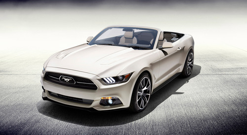 FORD MUSTANG 50 YEARS CONVERTIBLE BEING RAFFLED TO BENEFIT THE NATIONAL MULTIPLE SCLEROSIS SOCIETY ...
