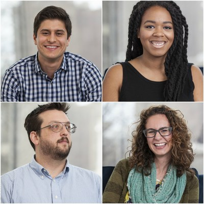 Zip Code Wilmington graduates Jason Baquet, Jocelyn Harper, Simon Hamermesh and Aiyani Martin
