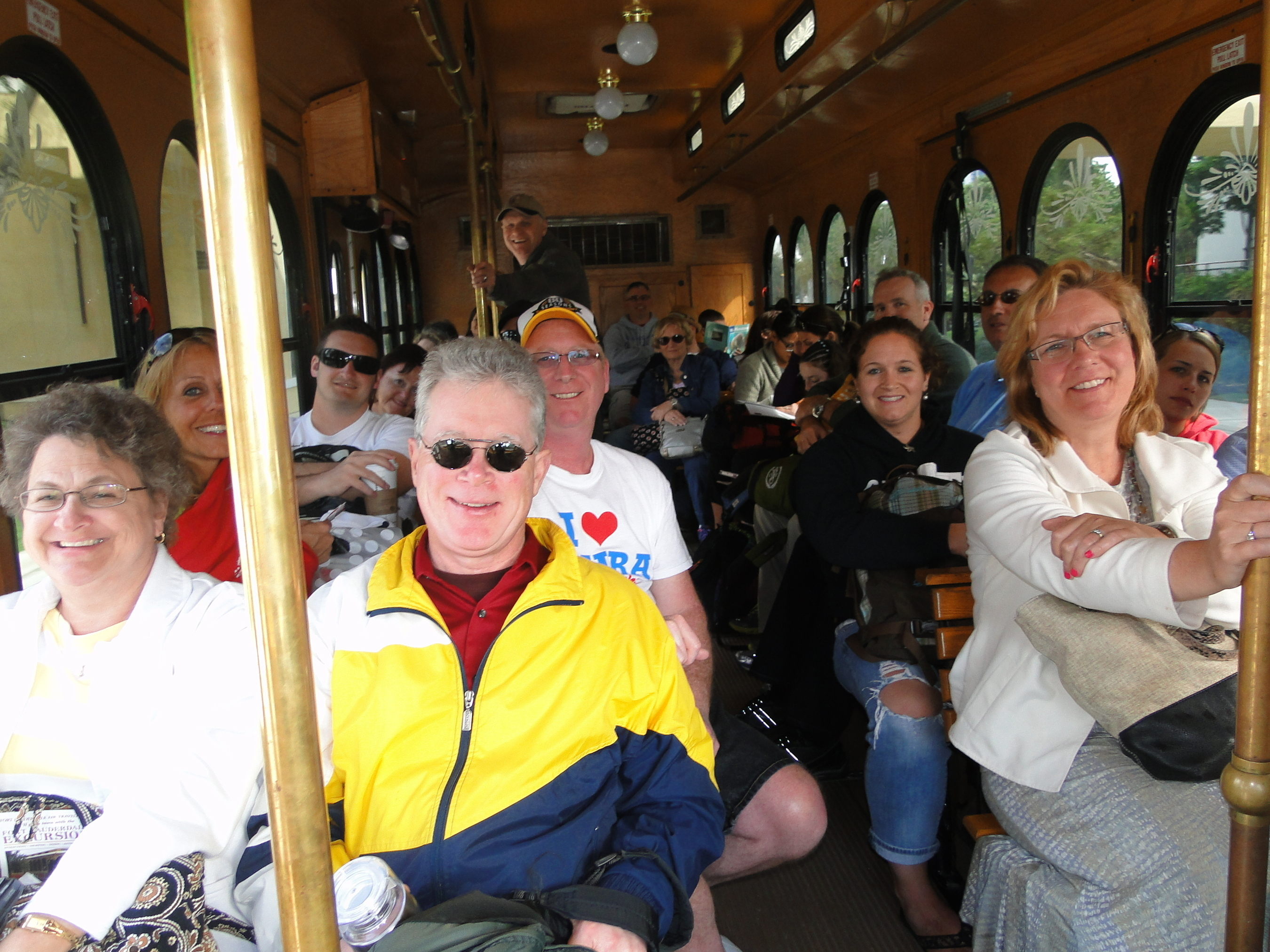 The Sun Trolley is affordable and easy to use - Just Wave N' Ride along any of its seven routes  (PRNewsFoto/Sun Trolley)
