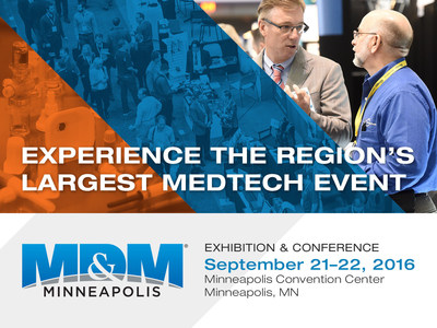 UBM Advanced Manufacturing Group and the Medical Alley Association Announce Second Year of Successful Partnership for Medical Design & Manufacturing Minneapolis