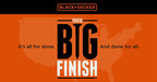 Enter a finished project to YourBigFinish.com for a chance to win prizes. (PRNewsFoto/BLACK+DECKER)