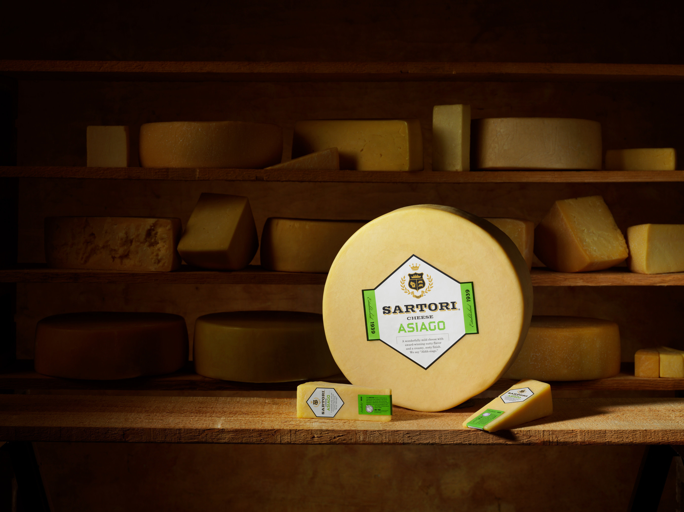 Sartori's Classic Asiago cheese received a first place finish at the Wisconsin State Fair.