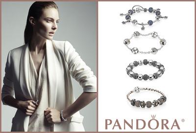 Sparkle this Season With New Pave-Set Charm Collection from PANDORA Jewelry.  (PRNewsFoto/PANDORA)