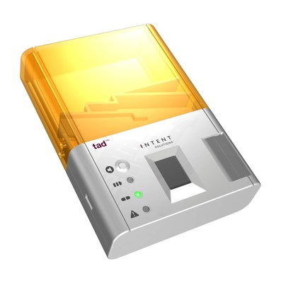 "TAD(TM), for ""Take As Directed,"" is a smart, mobile, medication dispenser created by Intent Solutions(TM) that helps patients obtain better health outcomes by helping the right patient take the right dose at the right time. TAD, which can be programed to a specific regimen and schedule, incorporates biometric access and is fully tamper resistant.  The medication dispenser also records adherence data, which is sent to a cloud database for analysis, reducing errors and simplifying data..."
