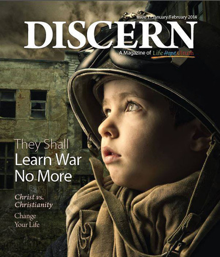 January/February 2014 Discern. (PRNewsFoto/Church of God, a Worldwide Association, Inc.) (PRNewsFoto/CHURCH OF GOD, A WORLDWIDE AS...)