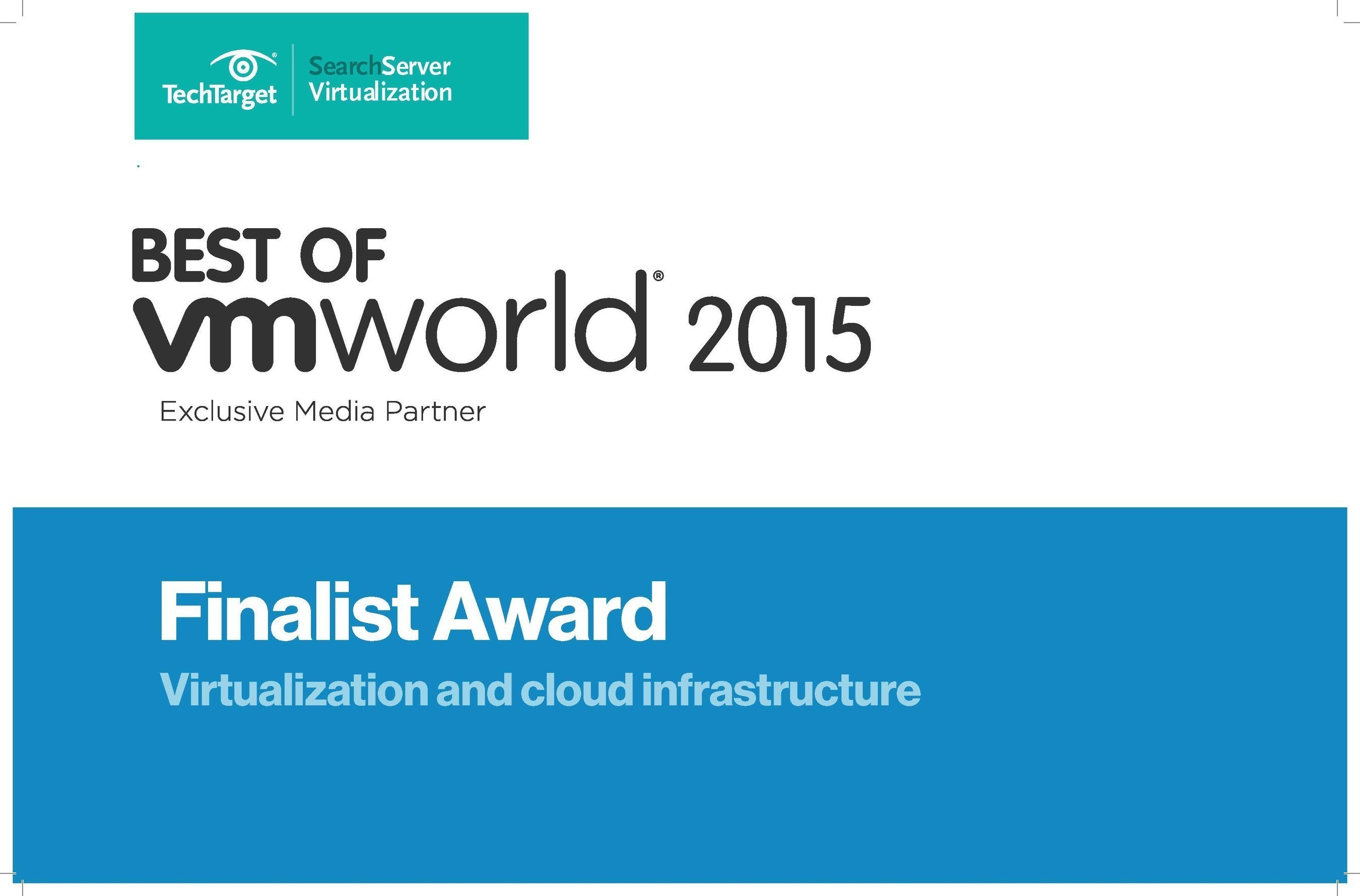 Synology's RC18015xs+ is Named a 'Best of VMworld 2015' Award Finalist