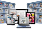 PressReader brings 2,000+ full-content, current-day newspapers & magazines to library patrons on their tablets, smartphones and eReaders.  (PRNewsFoto/NewspaperDirect Inc.)